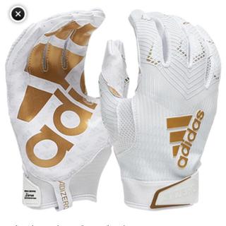 """アディダス(adidas)のadidas""""adizero 5 STAR 8.0""""ホワイト/ゴールド Lサイズ(アメリカンフットボール)"""