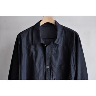maatee & sons silk cotton pleated jacket