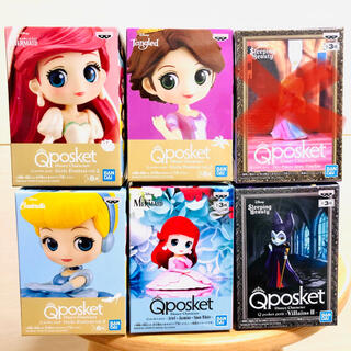 Disney - 【5/16削除予定】 Qposket ディズニー プリンセス フィギュア 5点