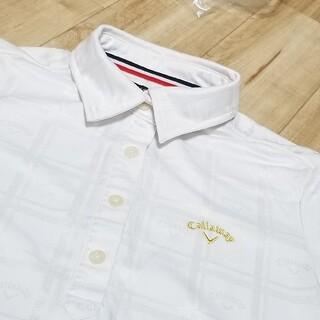 Callaway - 《美品》キャロウェイ ゴルフウェア レディース M 半袖 シャツ