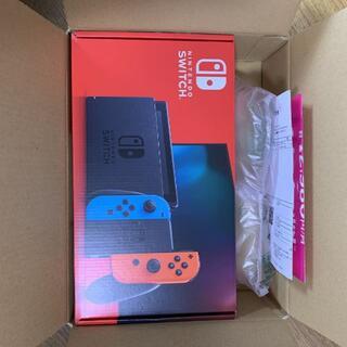 Nintendo Switch - 未開封新品 任天堂 スイッチ 新型 本体 Nintendo Switch ネオン