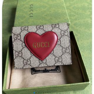 Gucci - 【Gucci】ハートカードケース ウォレット