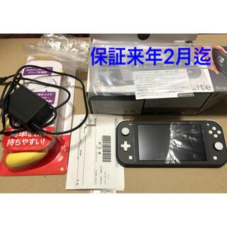 Nintendo Switch - 中古 ニンテンドーSwitchLite 本体 グレー