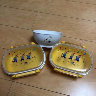 ファミリア(familiar)のfamiliar  お弁当セット(プレート/茶碗)