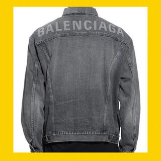 国内正規品 本物 バレンシアガ デニム ロゴ ジャケット パーカー tシャツ