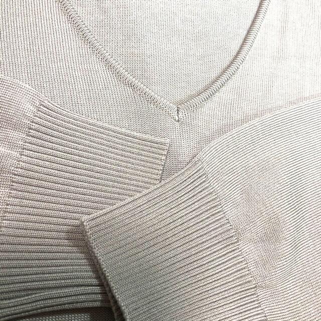 M-premier(エムプルミエ)のはるなつ様専用 M PREMIER エムプルミエ リブニット  レディースのトップス(カットソー(長袖/七分))の商品写真
