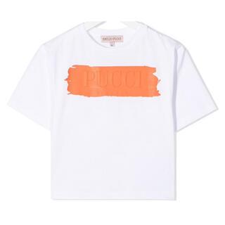 エミリオプッチ(EMILIO PUCCI)の【新作】エミリオプッチ ロゴTシャツ ホワイト(Tシャツ(半袖/袖なし))
