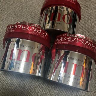SHISEIDO (資生堂) - 【送料込】フィーノ プレミアムタッチ 浸透美容液ヘアマスク ×3