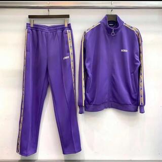 韓国 NERDY セットアップ 紫 Sサイズ