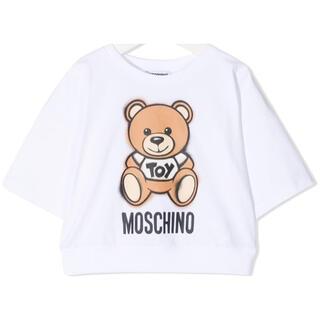 モスキーノ(MOSCHINO)の【新作】モスキーノ ベアTシャツ ホワイト 14(Tシャツ(半袖/袖なし))