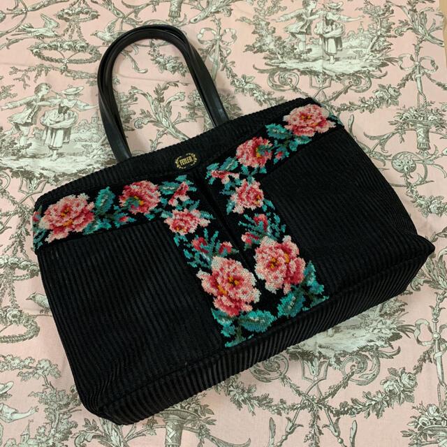 FEILER(フェイラー)のフェイラー バッグ シェニール織 ローズ柄 FEILER レディースのバッグ(ハンドバッグ)の商品写真