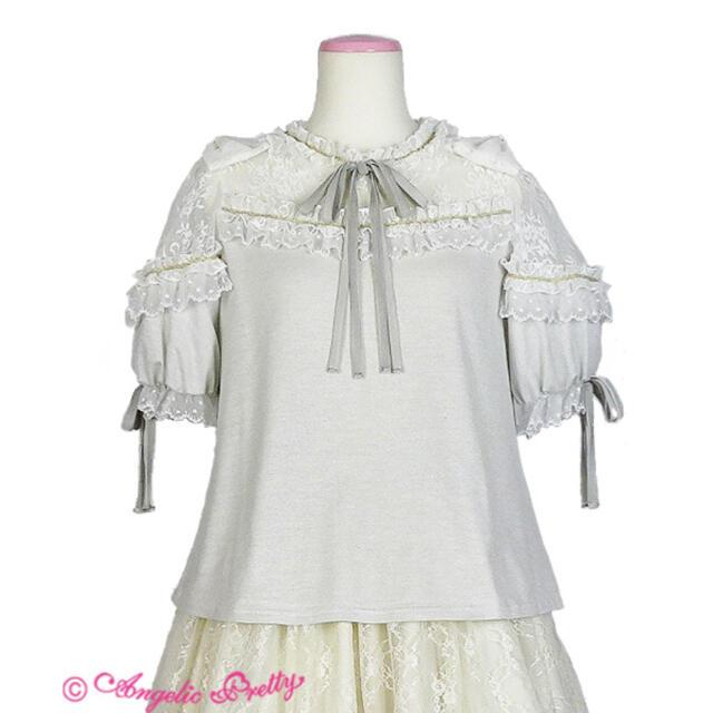 Angelic Pretty(アンジェリックプリティー)のAngel Bouquet カットソー  Angelic Pretty  レディースのトップス(カットソー(半袖/袖なし))の商品写真