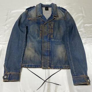 ディオールオム(DIOR HOMME)の希少 05SS エディ期 Dior Homme サビ加工デニムジャケット(Gジャン/デニムジャケット)