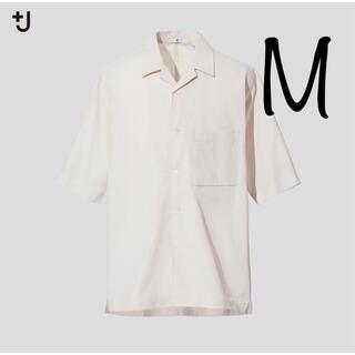 UNIQLO - +J スーピマコットンオーバーサイズオープンカラーシャツ