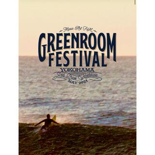 Greenroom festival 5/23(日) 1日券1枚 グリーンルーム(音楽フェス)