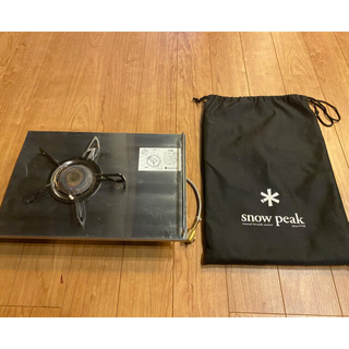 スノーピーク(Snow Peak)のスノーピーク ギガパワープレートバーナーLI (調理器具)