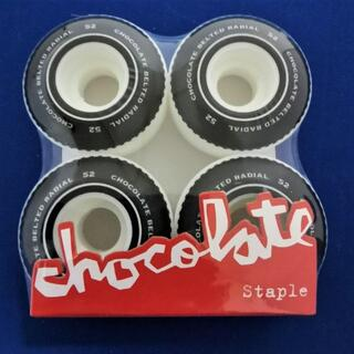 チョコレート(chocolate)の格安 GIRL スケボーウィール スケートボード Staple 52mm(スケートボード)