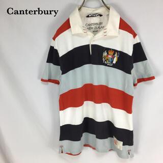 カンタベリー(CANTERBURY)のCanterbury カンタベリー 古着 ポロシャツ ラガーシャツ メンズ 半袖(ポロシャツ)