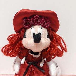 ディズニー(Disney)の新品タグ付き!ディズニーリゾート カリブの海賊 ミニー ぬいぐるみバッジ(キャラクターグッズ)