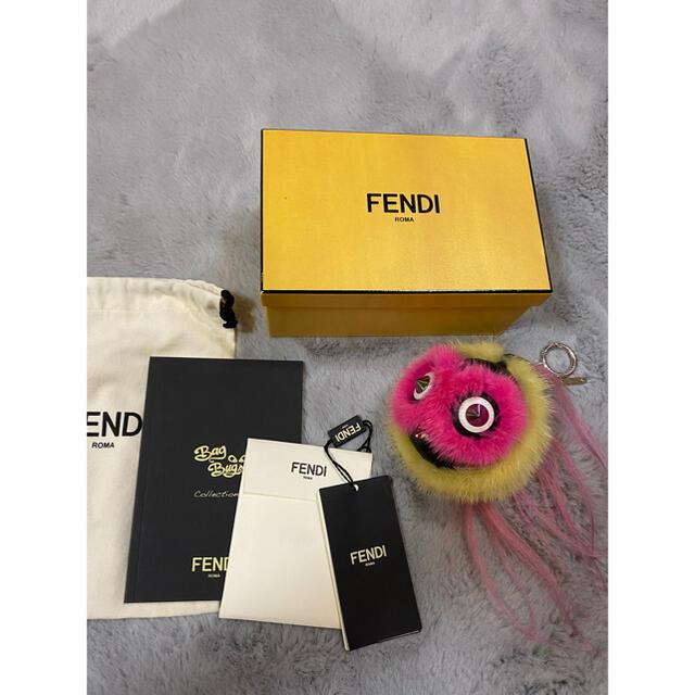 FENDI(フェンディ)のフェンディ モンスター キーホルダー チャーム  ハンドメイドのファッション小物(バッグチャーム)の商品写真
