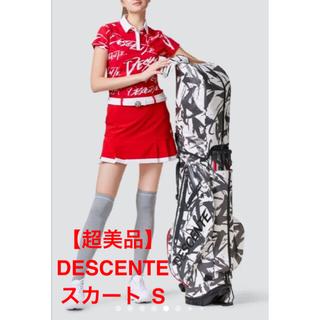 【美品】 DESCENTE GOLF  スカート61 S