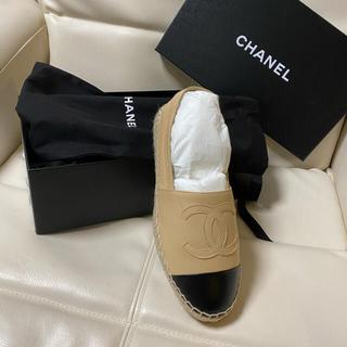 CHANEL - Chanel エスパドリーユ 36