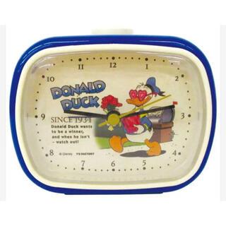 ディズニー(Disney)のドナルド 置き時計 ディズニー 目覚まし時計(置時計)
