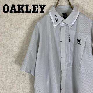 オークリー(Oakley)のOAKLEY オークリー スカルクラウン 半袖シャツ BDシャツ(シャツ)