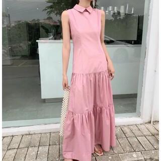 FRAY I.D - birthdaybash ステンカラーロングドレス ワンピース