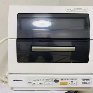 パナソニック(Panasonic)のPanasonic 食洗機 NP-TR7-W 6ヶ月保証付き(食器洗い機/乾燥機)