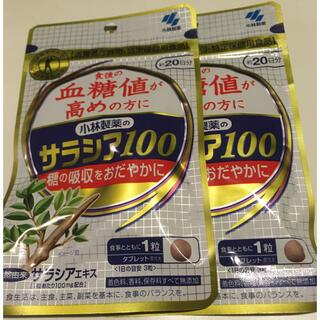 コバヤシセイヤク(小林製薬)の小林製薬 サラシア100  20日×2袋 (その他)