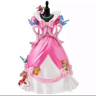 ディズニー(Disney)の新品完売 シンデレラ ピンク ドレス フィギュア 70周年 形見ドレス 限定品(キャラクターグッズ)