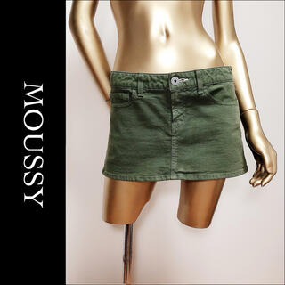 moussy - moussy ミニスカート*BACKS MAISON GILFY セシルマクビー
