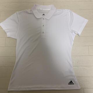 アディダス(adidas)の【美品】 adidas テニスウェア テニスシャツ 吸湿速乾 L レディース(ウェア)