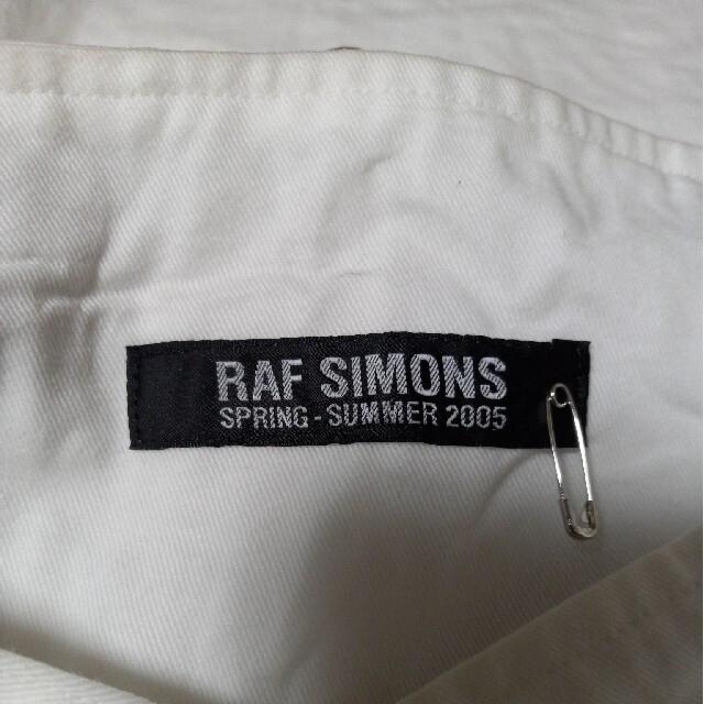 RAF SIMONS(ラフシモンズ)の【未使用品・激レア】ラフシモンズ 2005SSトートバッグ アーカイブ ホワイト メンズのバッグ(ショルダーバッグ)の商品写真