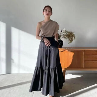 STUDIOUS - CLANE VOLUME TIERED MAXI SKIRT クラネ今期完売新品