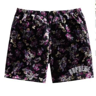 Supreme - Supreme Floral Velour Short