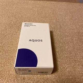 アクオス(AQUOS)のAQUOS sense3 lite SH-RM12 ブラック(Androidケース)