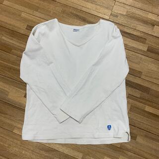 ORCIVAL - オーシバル vネックフレンチバスクシャツ 長袖