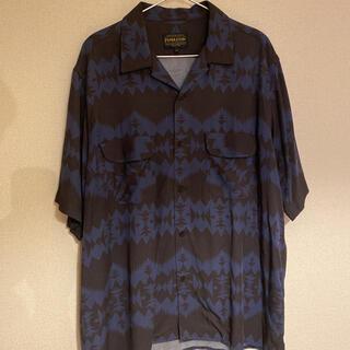 ペンドルトン(PENDLETON)のペンドルトン半袖シャツネイビー×ブラック(シャツ)