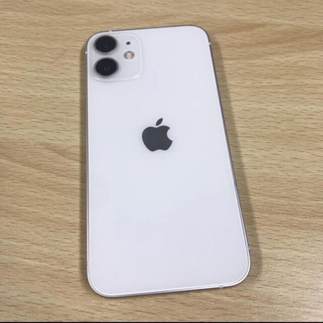 iPhone(アイフォーン)のiPhone12 mini ホワイト 128gb simフリー スマホ/家電/カメラのスマートフォン/携帯電話(スマートフォン本体)の商品写真
