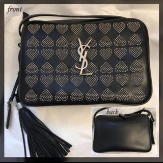 Saint Laurent - Saint Laurent♢LOU heart studs bag