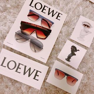 ロエベ(LOEWE)のロエベ 非売品 ポストカード シール(写真/ポストカード)
