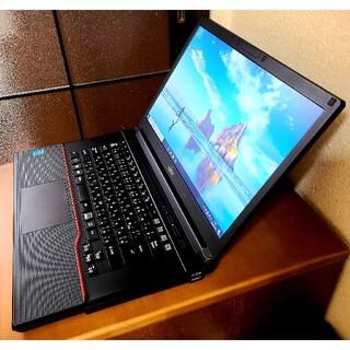 富士通 - ノートパソコン 高性能 4th Gen Core i5, 4GB , 700GB