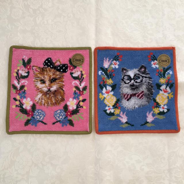 FEILER(フェイラー)の♡ FEILER フェイラー  LOVERARY BY FEILER 2枚セット レディースのファッション小物(ハンカチ)の商品写真