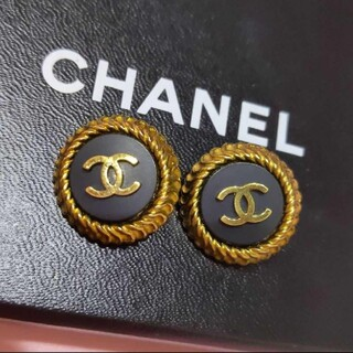 CHANEL - CHANEL シャネル 95'ヴィンテージ イヤリング COCOロゴマーク 美品