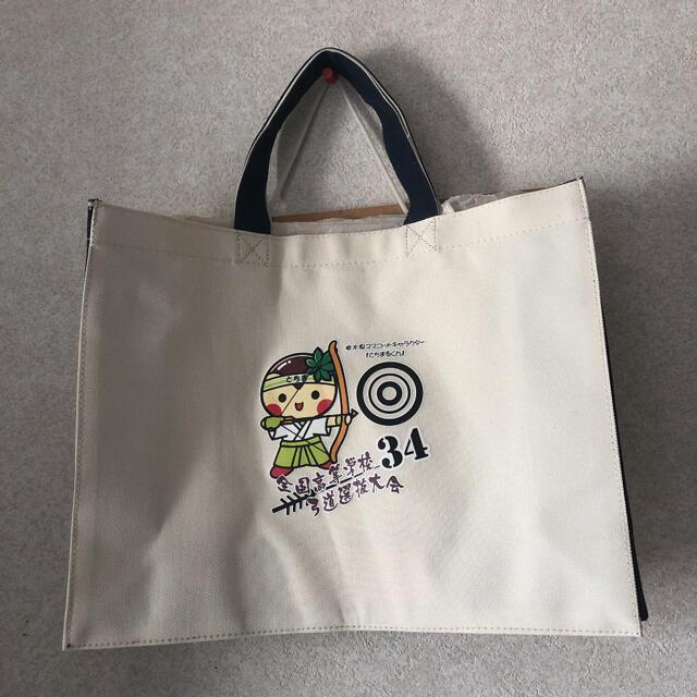 とちまるくん トートバッグ 非売品 レディースのバッグ(トートバッグ)の商品写真