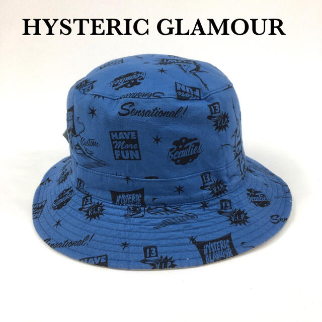HYSTERIC GLAMOUR(ヒステリックグラマー)のバケットハット 帽子 HYSTERIC GLAMOUR ヒステリックグラマー メンズの帽子(キャップ)の商品写真