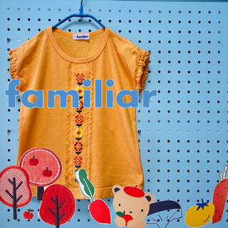 familiar - 美品  familiar  ファミリア   トップス