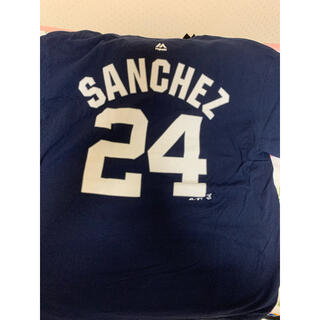 MLB ヤンキース サンチェス tシャツ(Tシャツ/カットソー(半袖/袖なし))